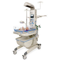 open radiant infant warmer incubator (with artificial ventilator) Ampla 2085 Fanem