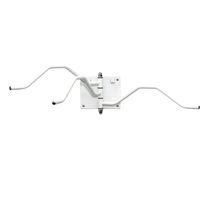 wall-mounted x-ray protective apron hanger 076943 AMRAY Medical