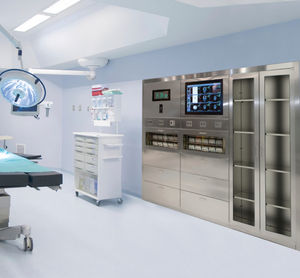 Built In Cabinet Storage For Instruments Medicine