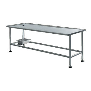 autopsy table rectangular stainless steel