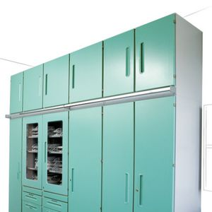 Storage Cabinet / For Medicine / Hospital / With Swing Doors