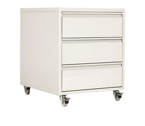 Beautiful 3 Drawer Office Drawer Unit / On Casters