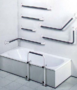 Wallmounted grab bar All medical device manufacturers Videos
