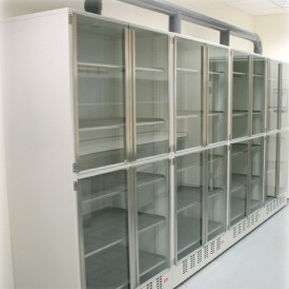 Ventilated Cabinet / For Hazardous Materials / Hospital / Stainless Steel