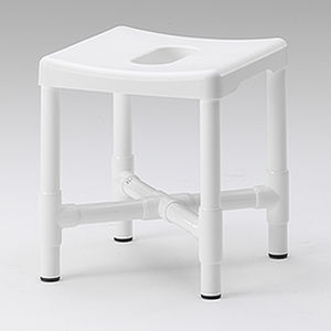 Shower Stool / With Cutout Seat