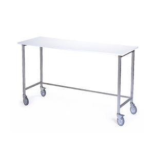 Delightful Work Table / Rectangular / On Casters / Collapsible