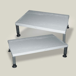 1-step step stool / stainless steel / non-slip & Non-slip step stool - All medical device manufacturers islam-shia.org