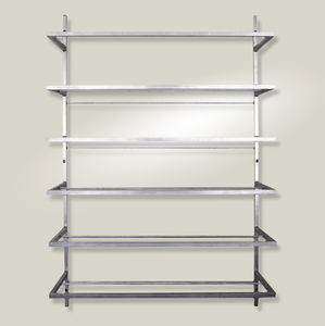 wallmounted shelves stainless steel