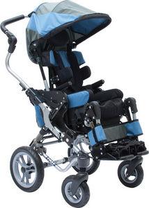 Manual wheelchair / passive / pediatric / with headrest