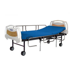 Medical bed / mechanical / 2 sections