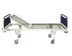 Medical bed / mechanical / 3 sections
