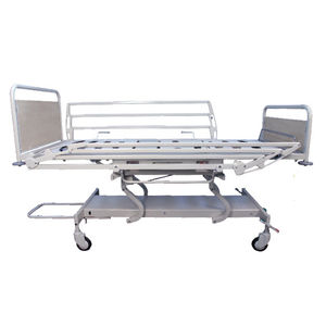Medical bed / mechanical / height-adjustable / 4 sections