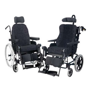 Passive wheelchair / manual / with legrest / with headrest