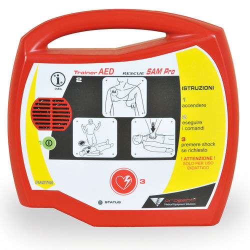 semi-automatic external defibrillator / training