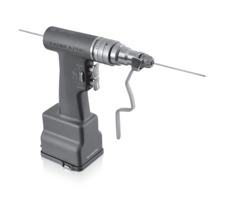 drill surgical power tool / battery-powered / joint surgery / traumatology