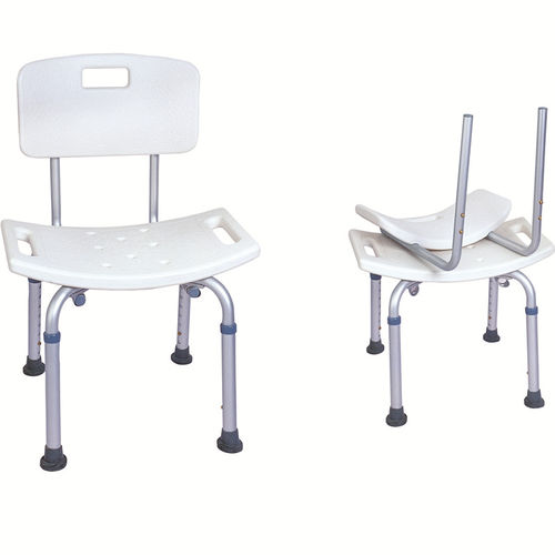 shower chair / height-adjustable