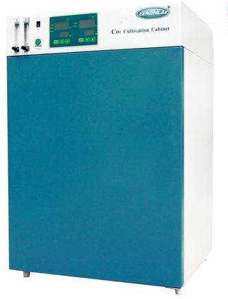 CO2 laboratory incubator / for cell cultures / bacteriological / bench-top