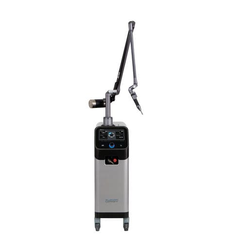 pigmented lesion treatment laser / tattoo removal / Nd:YAG / trolley-mounted