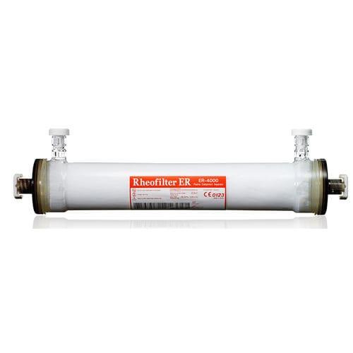 plasma therapy filter / plasma / polycarbonate / hollow-fiber