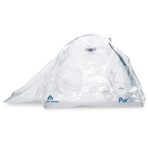 portable isolator / class III / containment / glove box