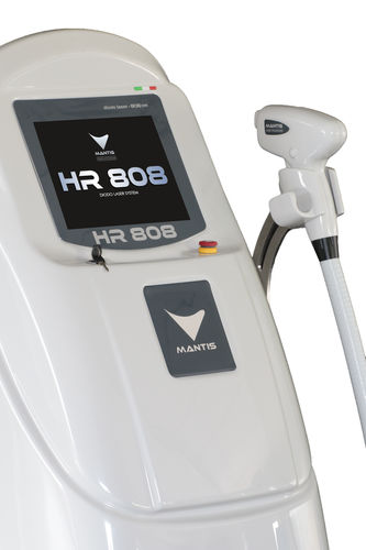 Hair removal laser / diode / trolley-mounted HR808 Mantis Italia