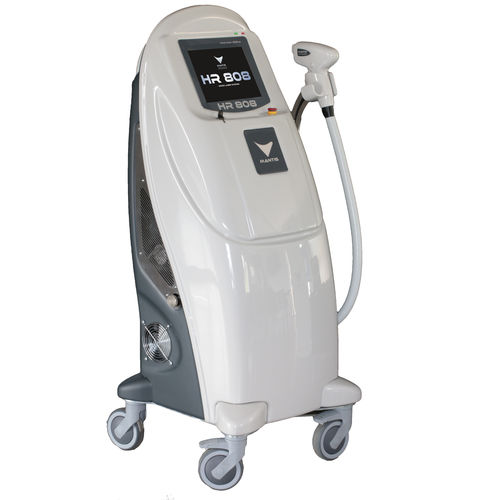 Hair removal laser / diode / trolley-mounted HR 808 Mantis Italia