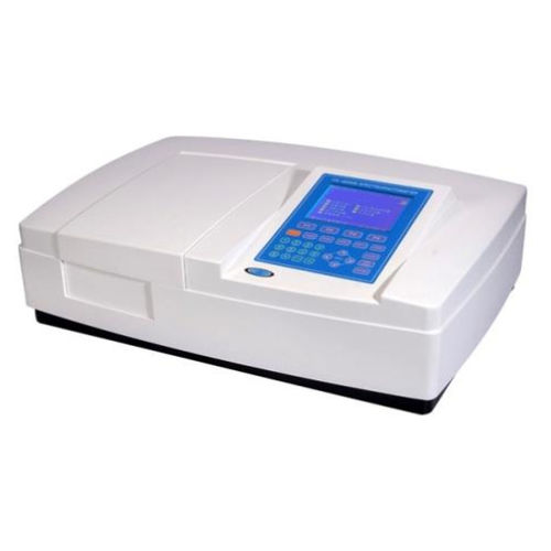 UV-vis spectrophotometer / double-beam / halogen