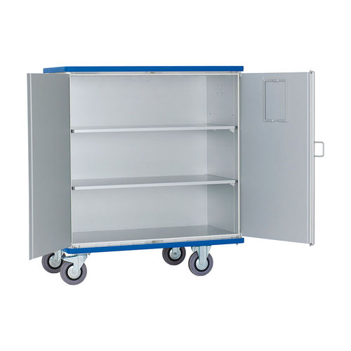 cleaning trolley / transport / storage / handling