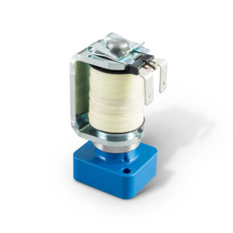 valve for the medical industry / solenoid / media separated