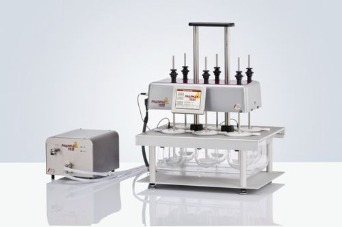 dissolution tester / for tablets / compact / automatic