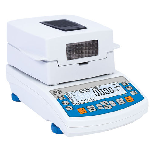 electronic moisture analyzer / for the pharmaceutical industry / with LCD display / bench-top