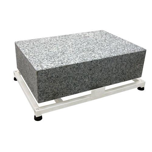 weighing table / rectangular / anti-vibration