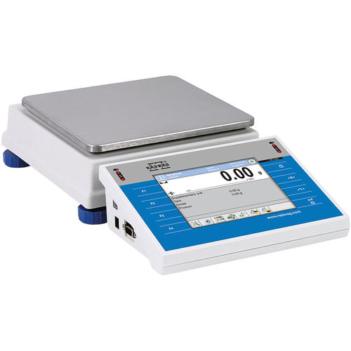 precision laboratory balance / with digital display / bench-top