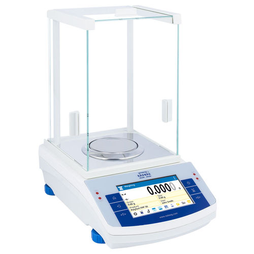 electronic laboratory balance / for pharmacies / for scientific research / for clean rooms