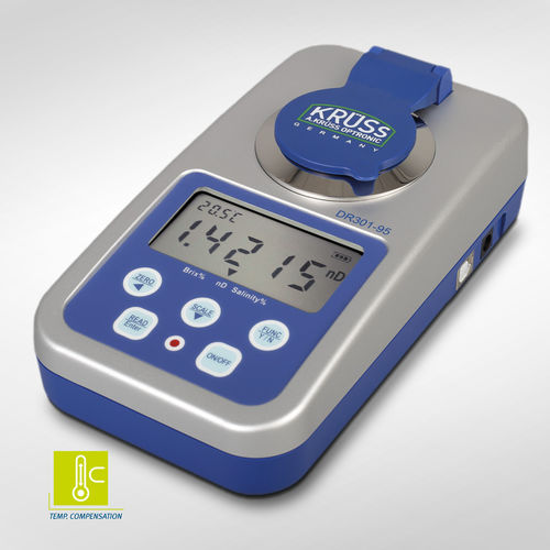 digital refractometer / optical / laboratory / for the food industry