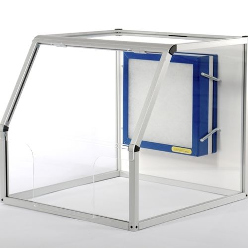 laboratory fume hood / for the pharmaceutical industry / medical / for dental laboratories