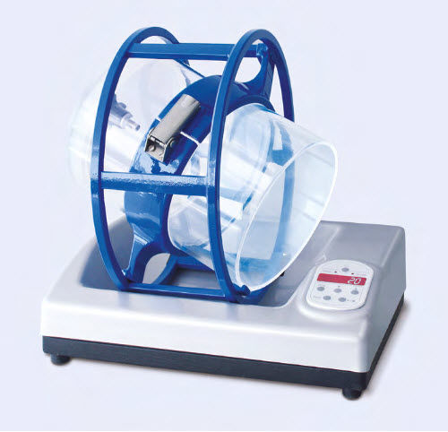 rotary laboratory mixer / digital / bench-top