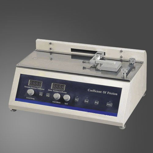 coefficient of friction tester / for packaging / bench-top / automatic