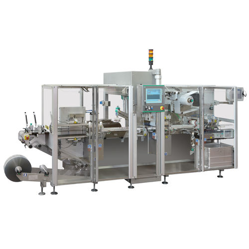 servo-driven thermoformer / automatic / intermittent-motion / industrial