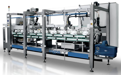 servo-driven packaging system / automatic / electronic / floor-standing