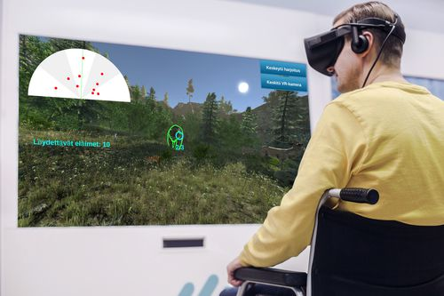 virtual rehabilitation system with serious games / with virtual reality system