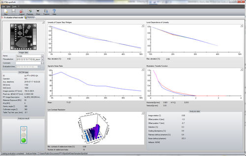 analysis software / data management / viewer / evaluation