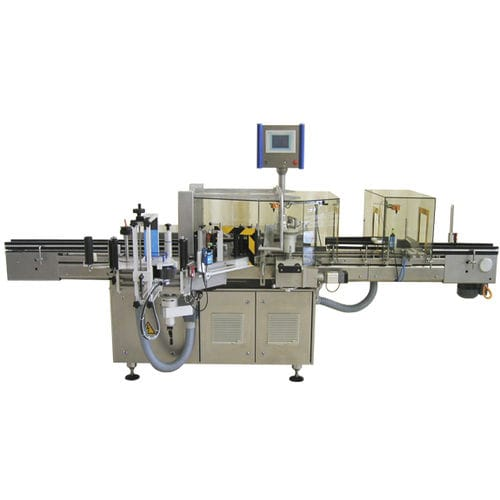 bottle labeling machine / for vials / for ampoules / automatic