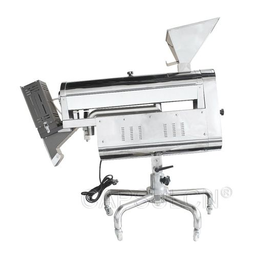 capsule polisher / stainless steel / with sorter