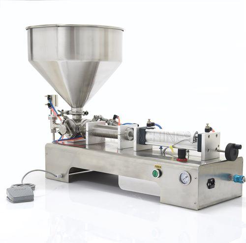 liquid filler / automatic / tabletop / bottle