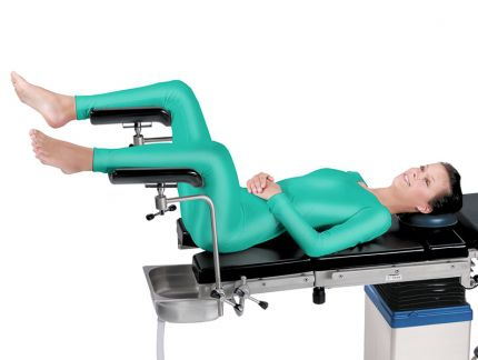 Leg Support / Operating Table / Height Adjustable / Radiolucent. КPP 11  Medin