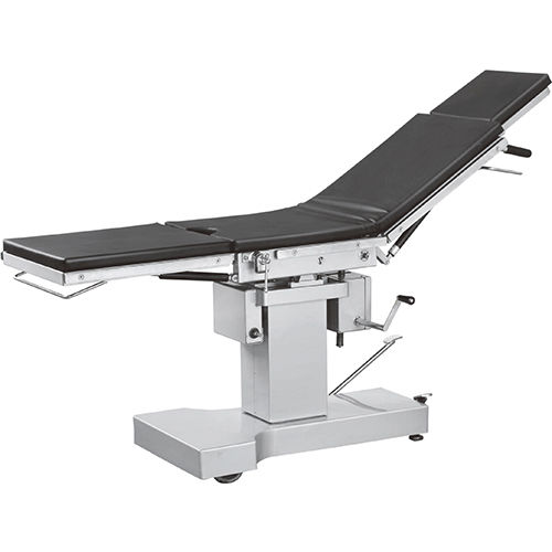 hydraulic operating table / mechanical / height-adjustable / Trendelenburg