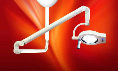 ceiling-mounted lamp support arm / surgical / dental / medical