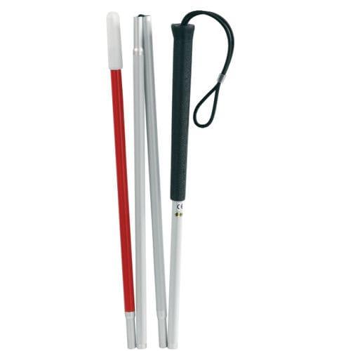 folding white cane