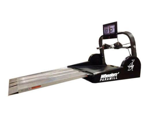 wheelchair-bound person treadmill